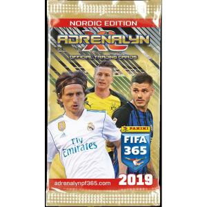 1 Pack Nordic Edition Panini Adrenalyn XL FIFA 365 2018-19
