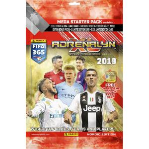1st Mega Starter Pack Nordic Edition Panini Adrenalyn XL FIFA 365 2018-19