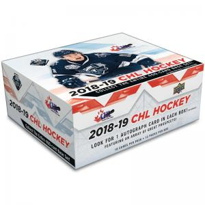 FÖRKÖP: Hel Box 2018-19 Upper Deck CHL (Prel. release 10:e april 2019)