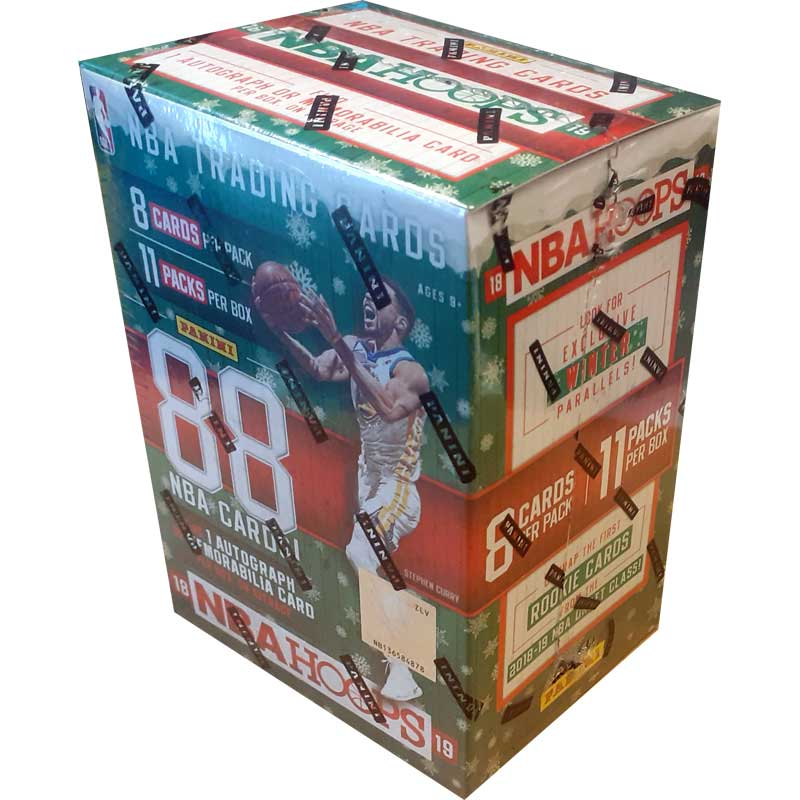 Hel Blaster Box 2018-19 Panini Hoops Holiday Basketball