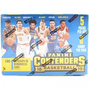 Sealed Blaster Box 2018-19 Panini Contenders Basketball