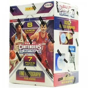 Hel Blaster Box 2018-19 Panini Contenders Draft Basketball