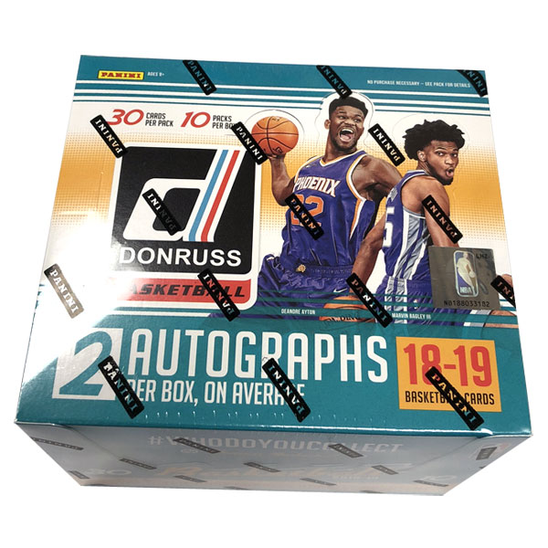 Hel Box 2018-19 Panini Donruss Basketball