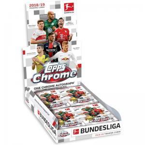 Hel Box 2018-19 Topps Chrome Bundesliga Soccer Hobby