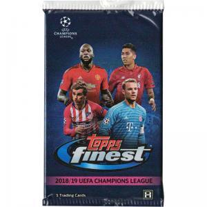 1st Paket 2018-19 Topps Finest UEFA Champions League Soccer Hobby