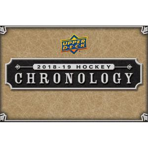 FÖRKÖP: Hel Box 2018-19 Upper Deck Chronology Volume 1 (Prel. release 22:e maj 2019)