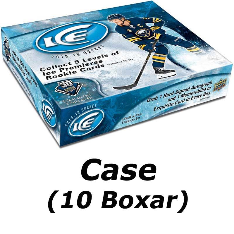 Hel Case (10 Box) 2018-19 Upper Deck Ice [91245]