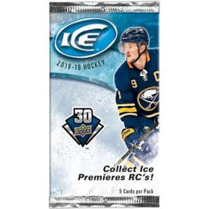 1 Pack 2018-19 Upper Deck Ice