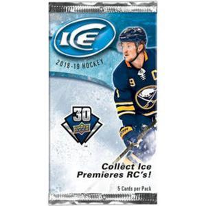 1st Paket 2018-19 Upper Deck Ice