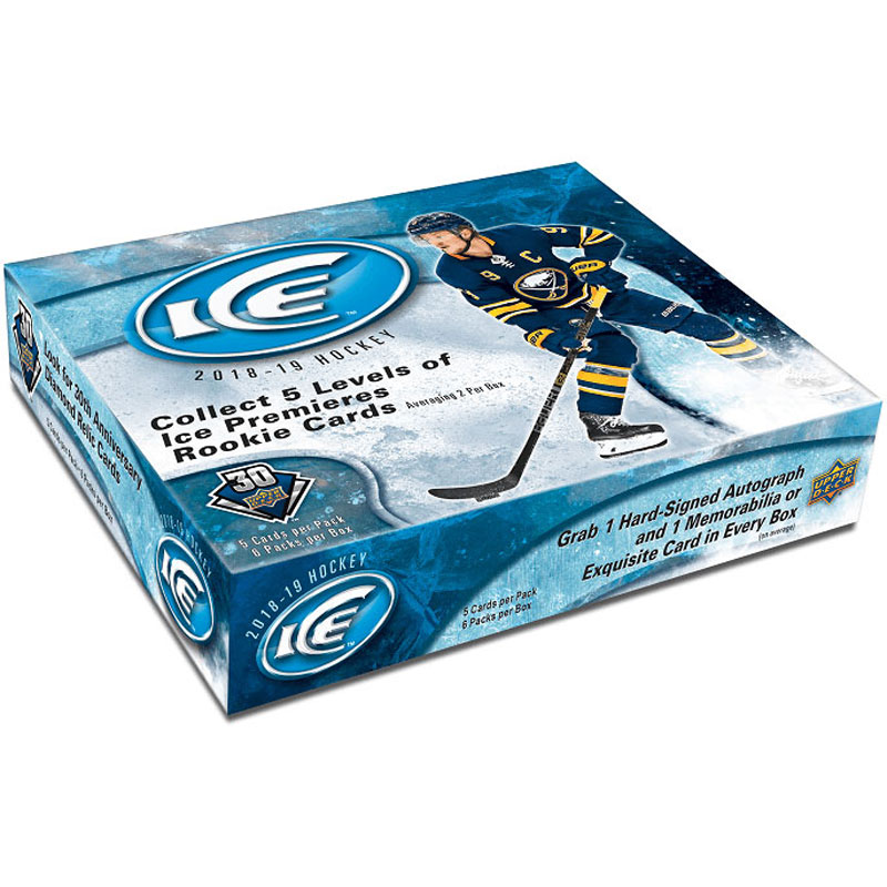 Sealed Box 2018-19 Upper Deck Ice