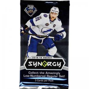 1 Pack 2018-19 Upper Deck Synergy
