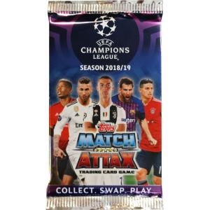 1st Paket (7 kort) 2018-19 Topps Match Attax Champions League