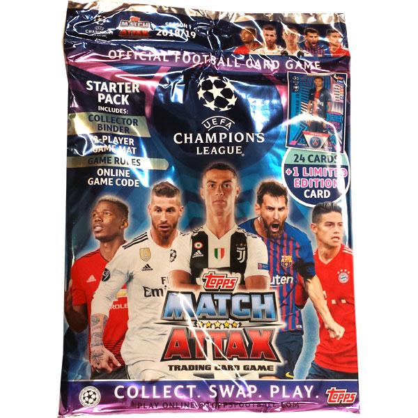 Starter Pack 2018-19 Topps Match Attax Champions League
