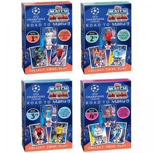 Set 2018-19 Topps Match Attax Champions League - Road To Madrid