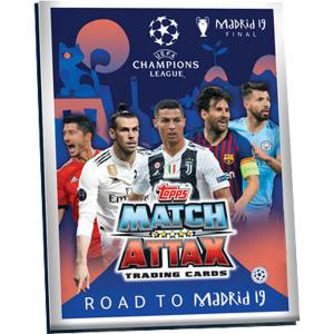 Pärm (A5) 2018-19 Topps Match Attax Champions League - Road To Madrid