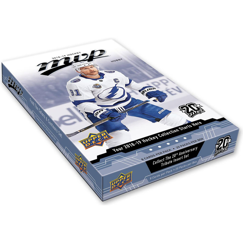Sealed Box 2018-19 Upper Deck MVP Hobby