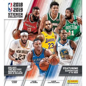 Album 2018-19 Panini NBA Sticker Collection (för klisterbilder)