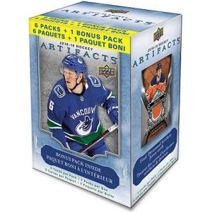 Hel Blaster Box 2018-19 Upper Deck Artifacts Retail (7 paket per box)