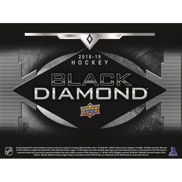 Hel Box 2018-19 Upper Deck Black Diamond