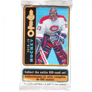 1 Pack 2018-19 Upper Deck O-Pee-Chee Retail