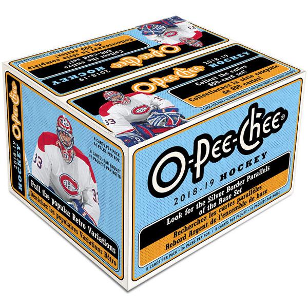 Hel Box 2018-19 Upper Deck O-Pee-Chee Retail
