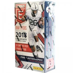 Hel Box 2018 Panini Elite Draft Picks Collegiate Football Hobby