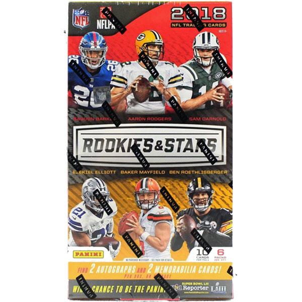 Hel Box 2018 Panini Rookies & Stars Football