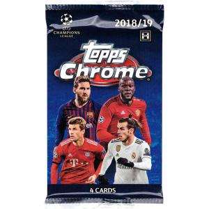 1st Paket 2018-19 Topps Chrome UEFA Champions League