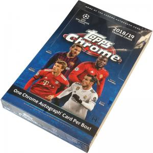 Hel Box 2018-19 Topps Chrome UEFA Champions League