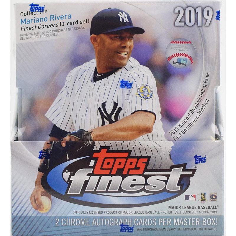 Hel Master Box 2019 Topps Finest Baseball Hobby