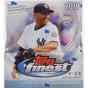 Sealed Master Box 2019 Topps Finest Baseball Hobby