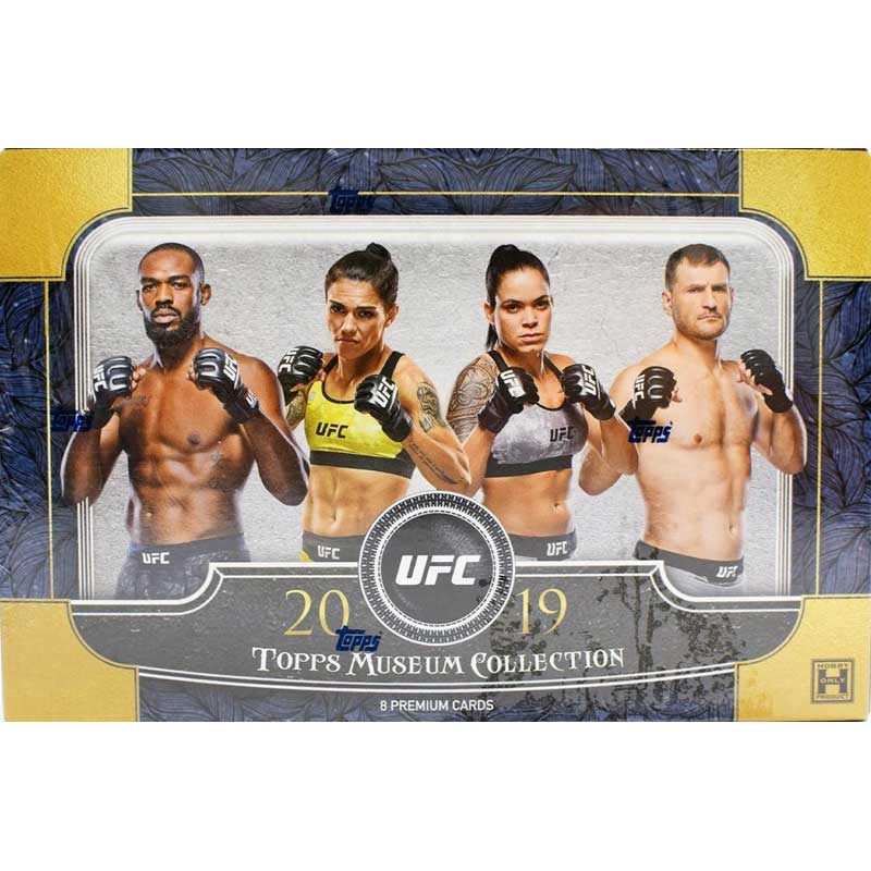 Hel Box 2019 Topps UFC Museum Collection Hobby
