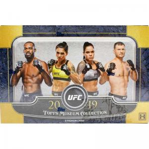 Sealed Box 2019 Topps UFC Museum Collection Hobby
