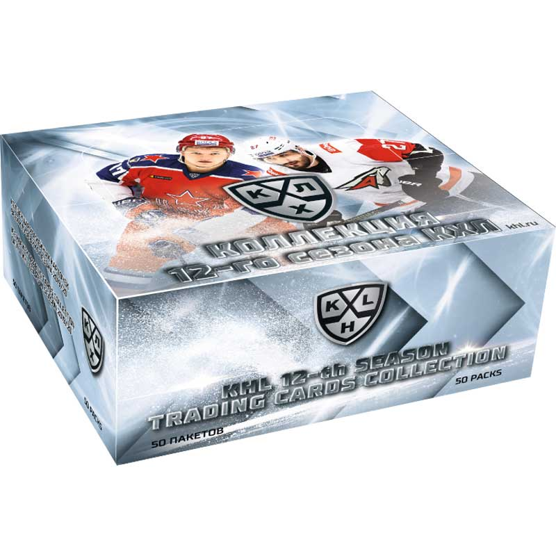Sealed Box 2019-20 KHL the 12th season collection BASIC