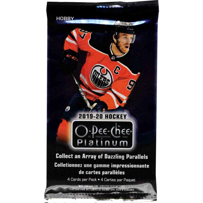 1 Pack 2019-20 Upper Deck O-Pee-Chee Platinum Hobby