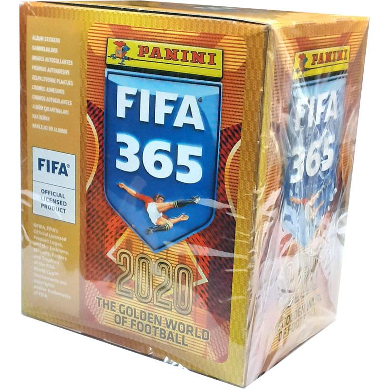 Full Box (50 packets) 2019-20 Panini FIFA 365 Stickers