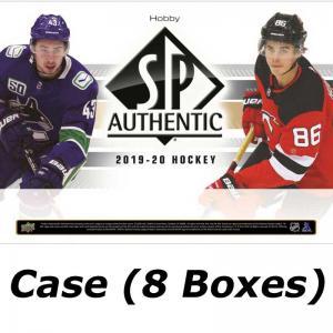 FÖRKÖP: Hel Case (8 Boxar) 2019-20 Upper Deck SP Authentic Hobby (Preliminär release 3:e juni 2020)