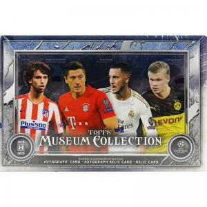 Sealed Box 2019-20 Topps UEFA Champions League Museum Collection Soccer [Note: Shrinkwrap hassomewhat poor weld]