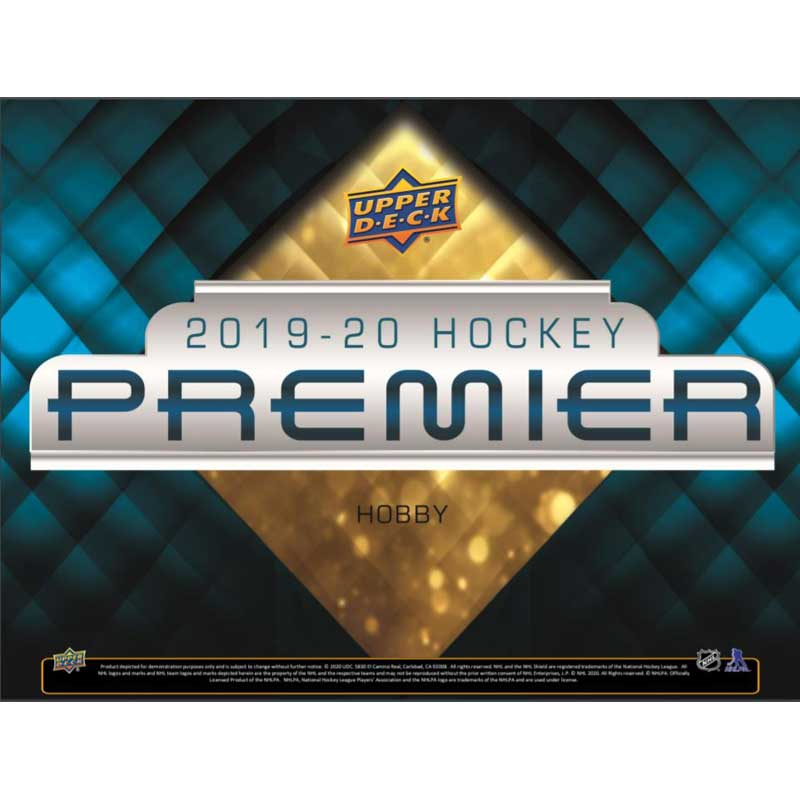 Sealed Box 2019-20 Upper Deck Premier