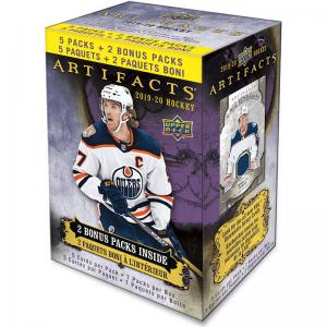 Hel Blaster Box 2019-20 Upper Deck Artifacts Retail