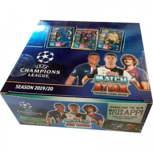 Box (30 packs) 2019-20 Topps Match Attax Champions League