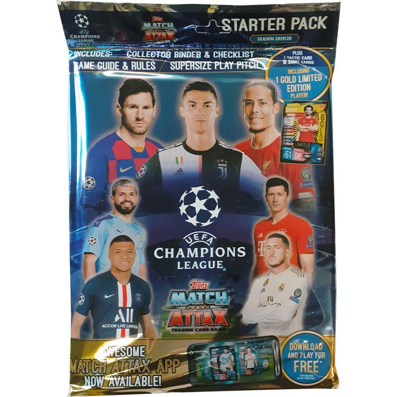 Startpaket 2019-20 Topps Match Attax Champions League