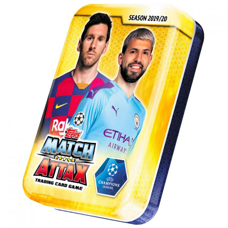 Mini Tin / Pocket Tin 2019-20 Topps Match Attax Champions League (Players on the tin lid may vary)