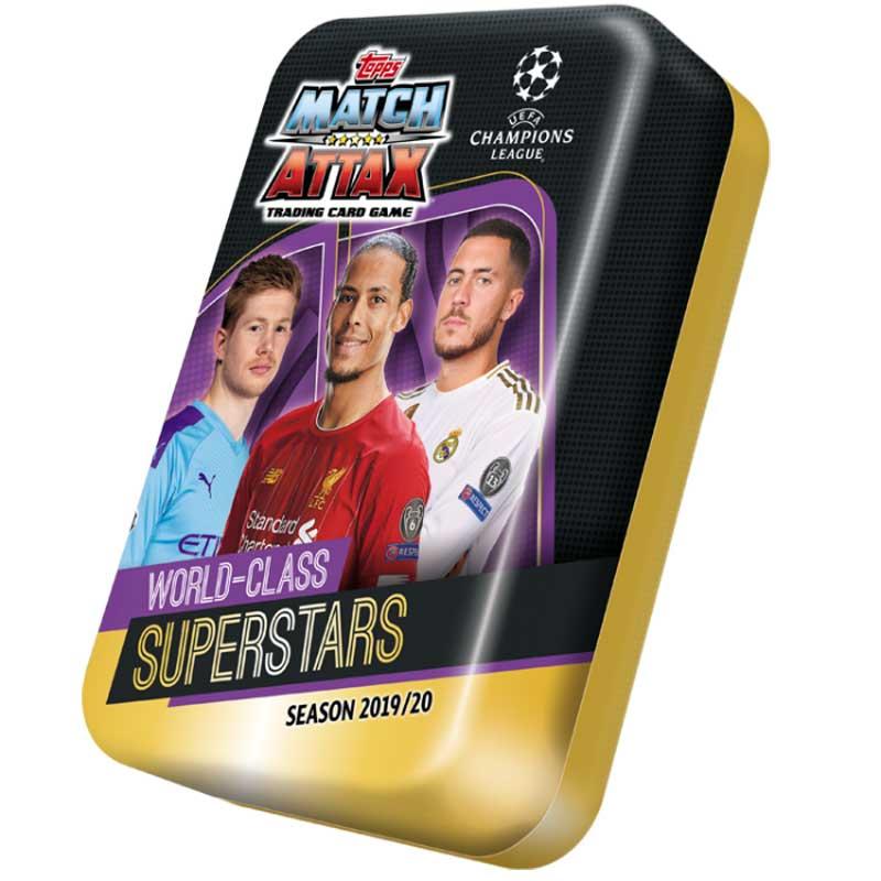 Mega Tin 2019-20 Topps Match Attax Champions League - WORLD CLASS SUPERSTARS