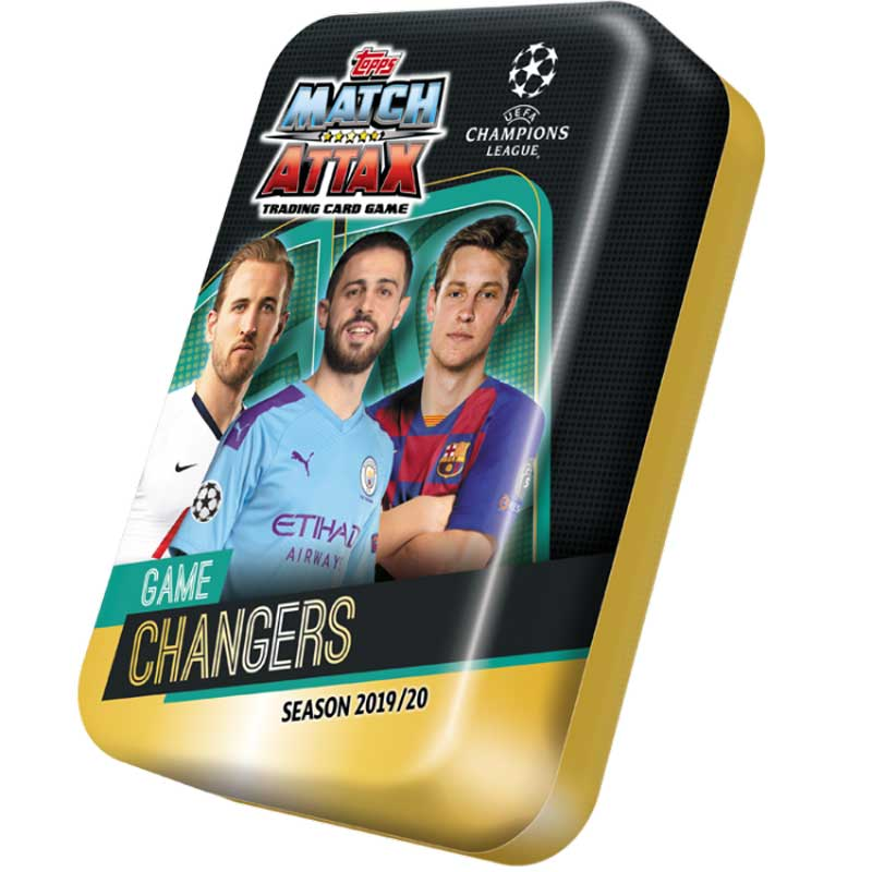 Mega Tin 2019-20 Topps Match Attax Champions League - GAME CHANGERS