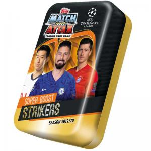 Mega Tin 2019-20 Topps Match Attax Champions League - SUPER BOOST STRIKERS