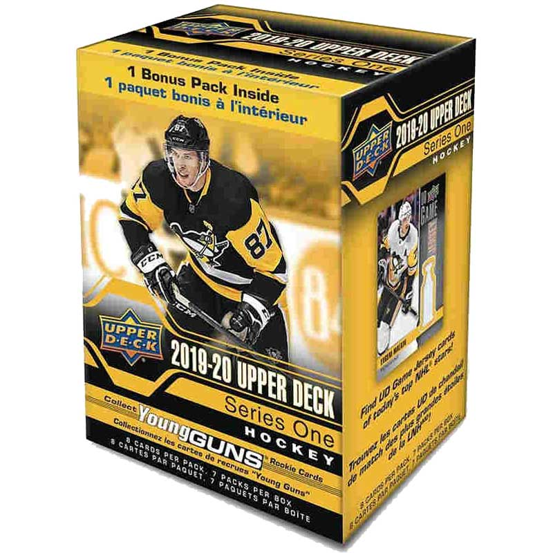 Sealed Blaster Box 2019-20 Upper Deck Series 1 Retail