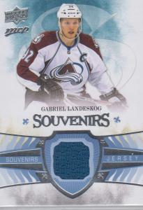 Gabriel Landeskog - 2014-15 Upper Deck MVP Souvenirs #SJGL