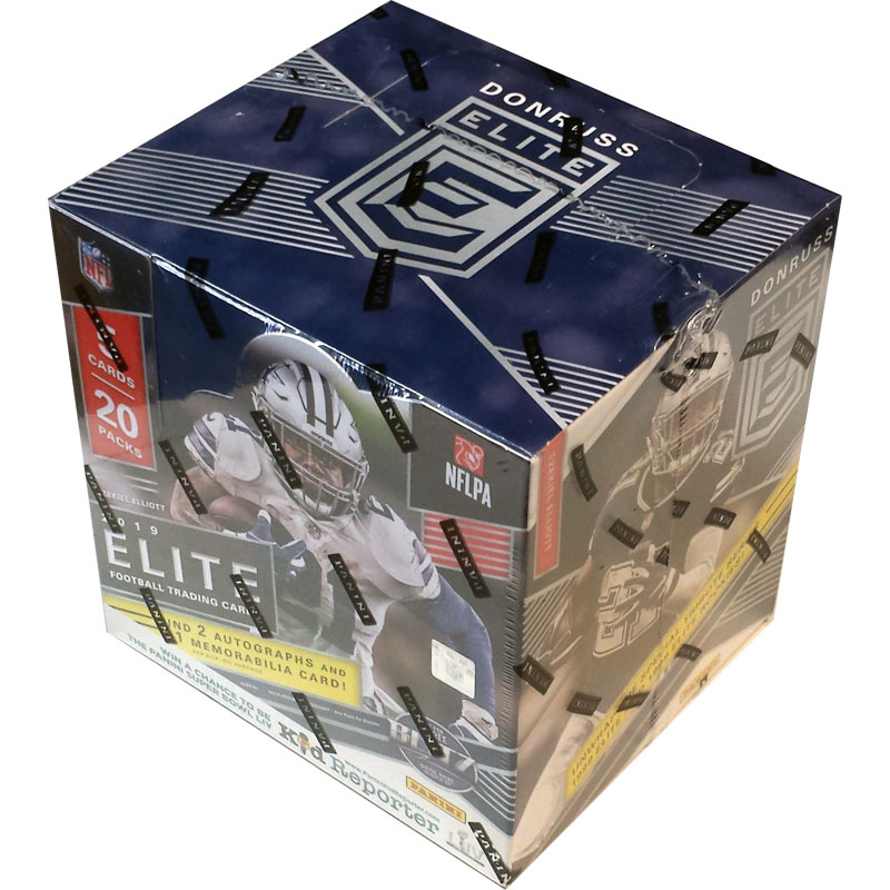 Hel Box 2019 Donruss Elite Football Hobby