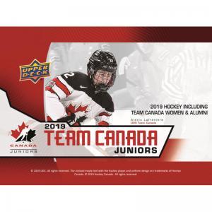 Hel Box 2019-20 Upper Deck Team Canada Juniors